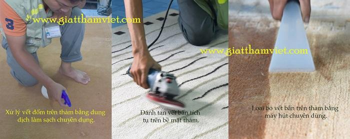 Giải pháp vệ sinh thảm trang trí hiệu quả