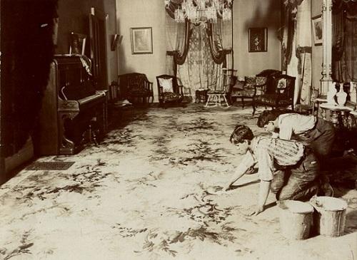 Lịch sử phát triển ngành giặt thảm