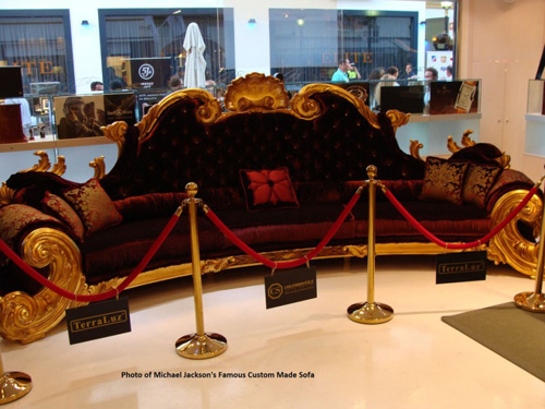 Top 10 ghế sofa đắt giá nhất thế giới