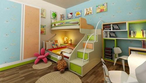 Chọn thảm trải sàn cho phòng trẻ nhỏ