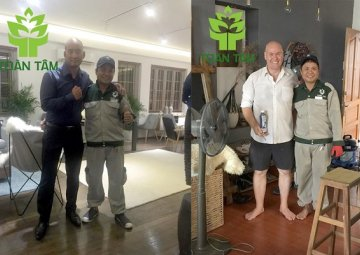 Carpet cleaning in Ho Chi Minh City