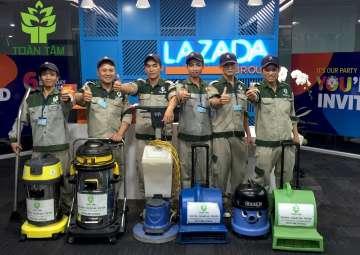 Vì sao TOÀN TÂM là nhà cung cấp dịch vụ giặt thảm hàng đầu tại Việt Nam?