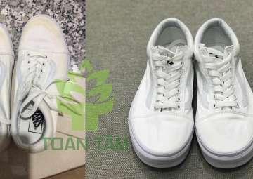 Cách vệ sinh, làm sạch giày trắng để không bị ố vàng