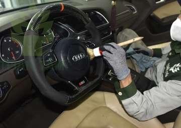 dọn nội thất ô tô loại bỏ khuẩn hại bảo vệ sức khoẻ
