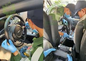 Dịch vụ vệ sinh nội thất xe hơi, xe ô tô tại nhà