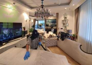 Giặt ghế sofa siêu tiết kiệm tối đa chi phí