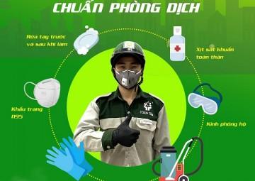 Làm sạch toàn diện và khử trùng toàn bộ nhà