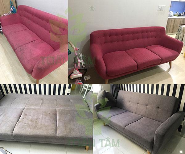 Dịch vụ giặt ghế sofa cho hiệu quả tốt nhất
