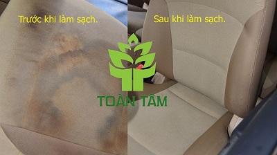 Hiệu quả từ việc vệ sinh nội thất xe