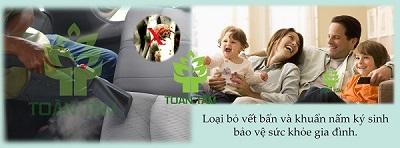 giặt ghế sofa băng nước nóng - giải pháp bảo vệ sức khoe gia đình