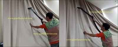 giặt màn cửa