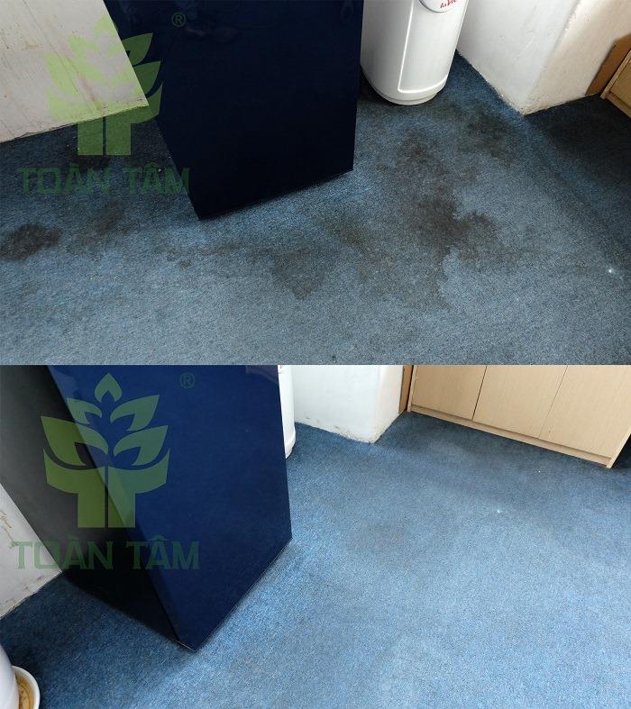 Giặt thảm giúp làm sạch vết bẩn và diệt khuẩn