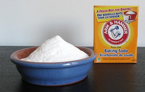 Sử dụng baking soda khử mùi nhà mới